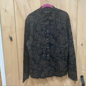 Peruvian Connection Pima Cotton Sweater Size XL